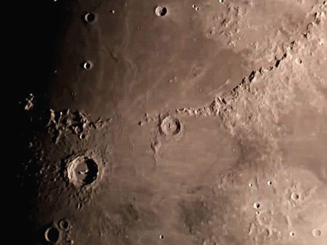 Moon; 60Da movie mode;  LX200 10 @f/20 - unguided; 7-6-14; Hainsport